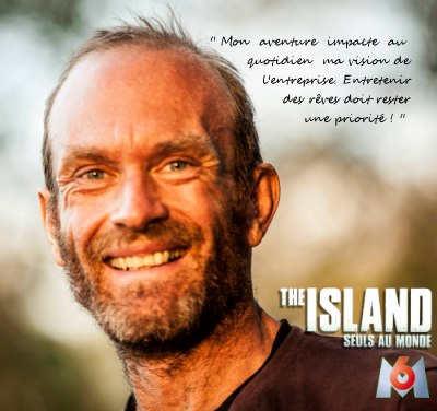 Michel Vernet The Island M6 gérant de Naturellementvotre